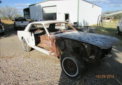 1966 Ford Mustang Coupe 1966 mustang project coupe body 66 C-CODE SHELL