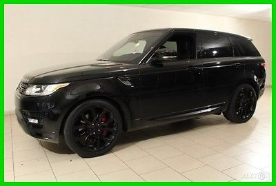 2016 Land Rover Range Rover Sport Autobiography 2016 Autobiography Used 5L V8 32V Automatic 4WD Premium