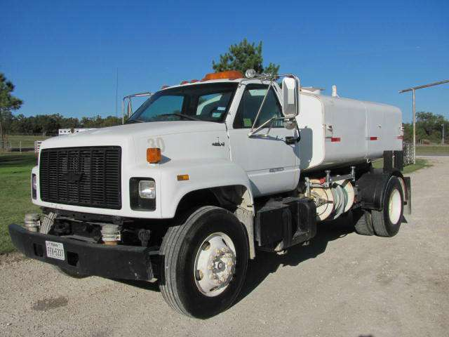 1997 Chevrolet C7500 Tanker Truck