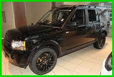 2013 Land Rover LR4 HSE Black Package 2013 HSE Black Package Used 5L V8 32V Automatic AWD SUV Premium