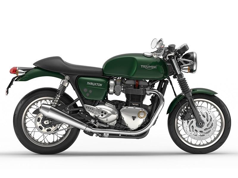 2016 Triumph Thruxton 1200 Competition Green