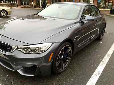 2016 BMW M4 Base Convertible 2-Door 2016 BMW M4 Convertible 2-Door 6 speed