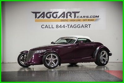 1999 Plymouth Prowler Base Convertible 2-Door 1999 Used 3.5L V6 24V Automatic RWD Convertible