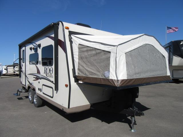 2017 Forest River ROCKWOOD ROO 19 SOLID SURFACE /