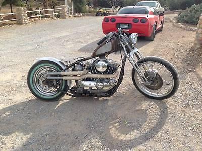 1993 Custom Built Motorcycles Bobber  Harley Davidson Sportster 1200 bobber paughco