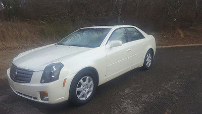 2006 Cadillac CTS Base 4dr Sedan w/3.6L 2006 Cadillac CTS Base 4dr Sedan w/3.6L 36,777 Miles White Diamond 4dr Car 3.6L