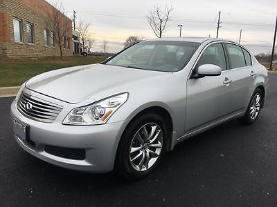 2007 Infiniti G35 Leather Beautiful All-Wheel Drive 2007 Infiniti G35X Premium Technology Package
