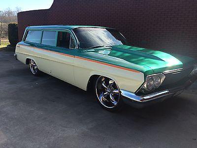 1962 Chevrolet Bel Air/150/210 Base Wagon 4-Door 1962 Chevrolet Bel Air Base Wagon 4-Door 4.6L