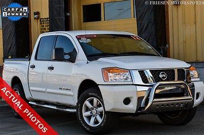2012 Nissan Titan SV 2012 Nissan Titan SV 4D Crew Cab Endurance 5.6L V8 DOHC 32V 5-Speed Automatic