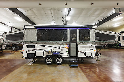 New 2017 High Wall HW29SC Pop Up Fold Down Slide Out Tent Camper Travel Trailer