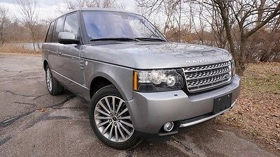 2012 Land Rover Range Rover  UPERCHARGED 510hp NAVIGATION LOADED MINT CONDITION MAKE OFFER