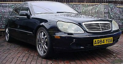 2001 Mercedes-Benz S-Class S430 2001 S430  4.3L V8 24V Automatic RWD , EASY FIX , W220   AS IS