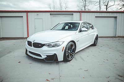 2016 BMW M3 Base Sedan 4-Door 2016 BMW M3 with M Performance Upgrades