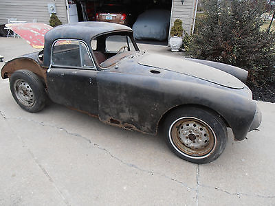 1960 MG MGA 1958 MG MGA Coupe