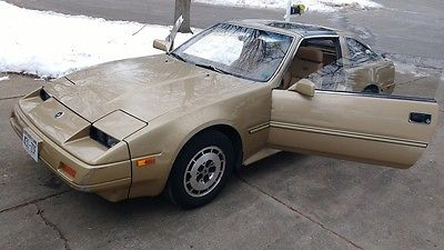 1986 Nissan 300ZX 2+2 Leather 1986 Nissan 300ZX 2+2 Leather Seats T-Tops Digital-Package 115,322 Gold Z31