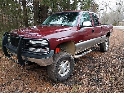 1999 Chevrolet Silverado 1500 3 door z71 1999 Chevy Silverado z71 lifted on 33s
