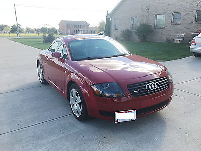 2002 Audi TT Base Coupe 2-Door 2002 Audi TT Quattro Coupe 2-Door 1.8L Upgraded Turbo 300+HP 6-Speed Manual