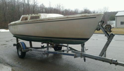 SAILBOAT TRAILER -Load-rite galvanized bunk trailer for 22 Catalina or similar