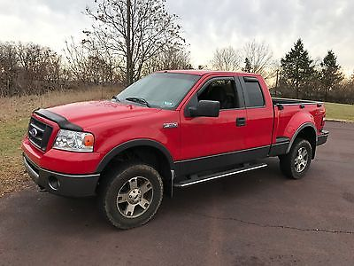 2007 Ford F-150 FX4 2007 Ford F-150 FX4 FLARESIDE-STEP SIDEBED LINER-TOW PAK NEW INSPECTION