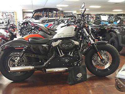 2010 Harley-Davidson Sportster HARLEY DAVIDSON SILVER SPORTSTER XL1200X FORTY EIGHT