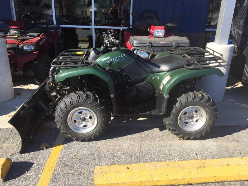 Yamaha grizzly 660 auto 4x4 motorcycles for sale for Yamaha 4 wheeler 4x4