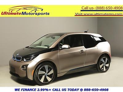 2014 BMW i3 Base Hatchback 4-Door 2014 BMW i3 100% ELECTRIC NAV ECO PRO+ MODE HEATSEAT 19