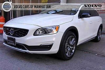 2017 Volvo Other V60 Cross Country T5 AWD Certified CPO Warranty 8/1/23-100k Heated Front Seats Keyless Entry Rear Camera HomeLink NICE