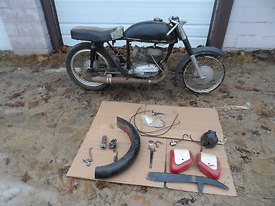 1963 Other Makes  BULTACO METRALLA 200 CC MATCHING NUMBERS PARTS PROJECT BIKE