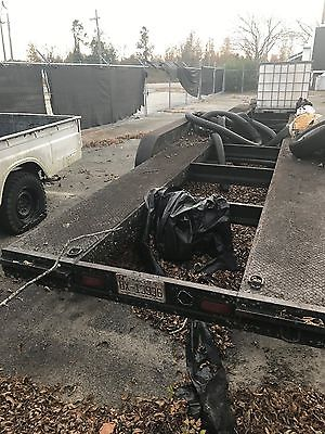 Kaufman 32 foot 2 car trailer