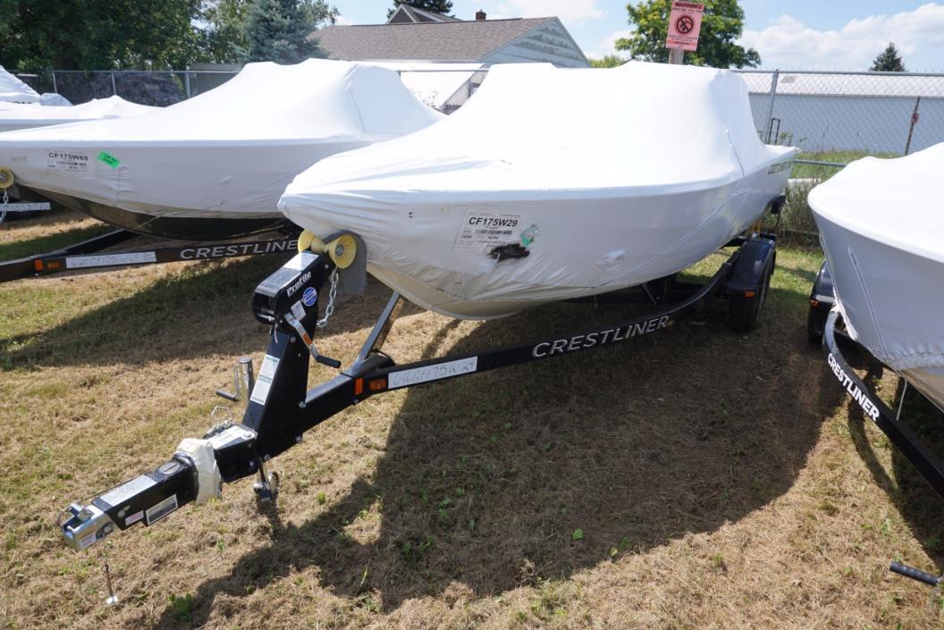 2016 Crestliner 1750 Fish Hawk WT