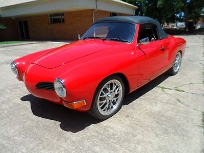 1970 Volkswagen Karmann Ghia Red/Black upercharged Rotary