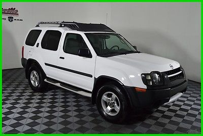 2004 Nissan Xterra XE RWD V6 SUV Navigation Cloth Seats Automatic 154668 Miles 2004 Nissan Xterra Towing Package Side Steps Keyless Entry