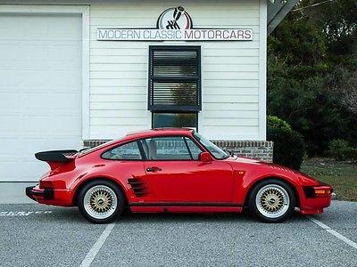 1986 Porsche 930 1986 Porsche Factory Slantnose 'Flachbau'
