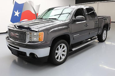 2011 GMC Sierra 1500 SL Crew Cab Pickup 4-Door 2011 GMC SIERRA CREW 6PASS BEDLINER SIDE STEPS 20'S 47K #165074 Texas Direct