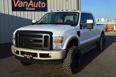 2010 Ford F-250 KING RANCH 2010 Ford Super Duty F-250 SRW KING RANCH 103,150 Miles Oxford White/Pueblo Gold