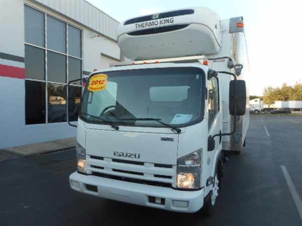 2012 Isuzu Nrr  Refrigerated Truck