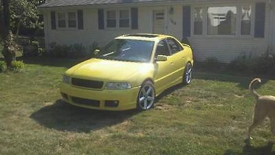 1999 Audi A4 Base Sedan 4-Door 1999.5 Audi A4 1.8T APR STAGE 3 Tuned