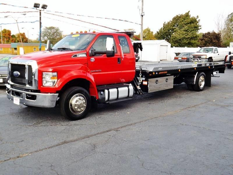 Ford F  Supercab Rollback Tow Truck