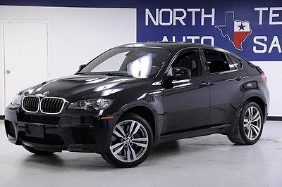 2014 BMW X6 M w/seating for 5 DVD/Backsea -- 2014 BMW X6 M w/seating for 5 DVD/Backsea Carbon Black Metallic SUV Automatic