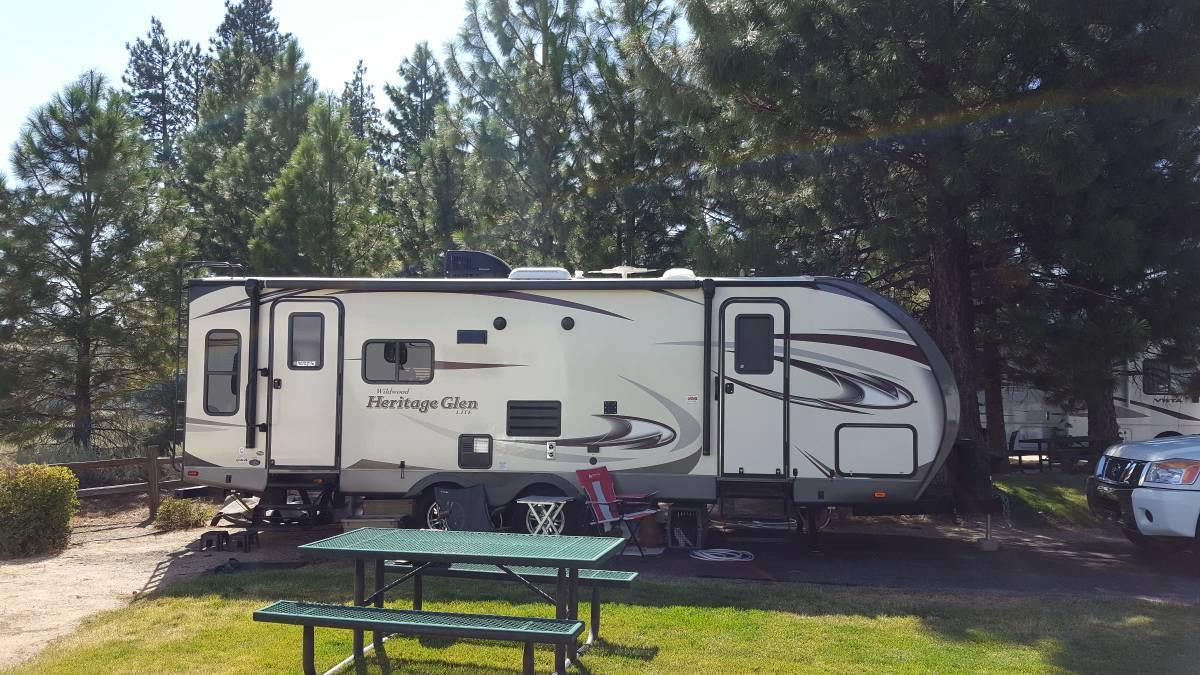 2016 Forest River WILDWOOD HERITAGE GLEN 263RL