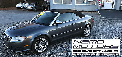 2008 Audi S4 Cabriolet Convertible 2-Door 2008 Audi S4 Cabriolet Convertible 2-Door 4.2L, 6-Speed Auto w/Paddle Shift