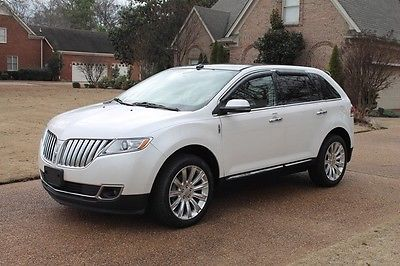 2013 Lincoln MKX Base Sport Utility 4-Door One Owner Perfect Carfax Nav Heated and Cooled Seats Pano Roof MSRP New $48145