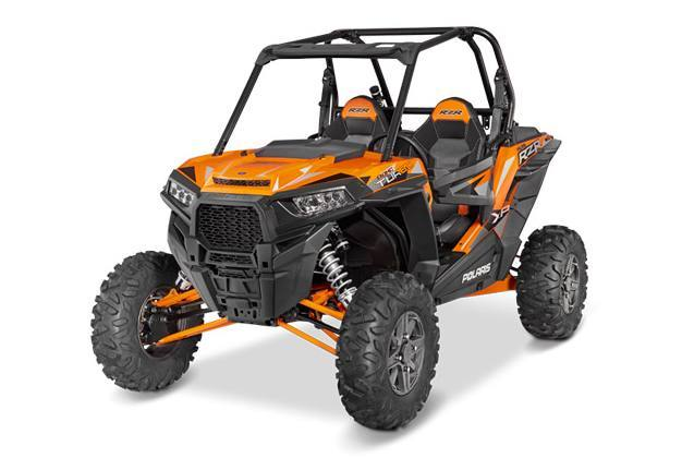 2016 Polaris RZR XP Turbo EPS - Spectra Orange