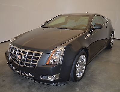 2014 Cadillac CTS Premium Coupe 2-Door CTS AWD 2014 Cadillac Premium Coupe special Edt Phantom gray Low Mls leather nav