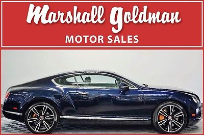 2013 Bentley Continental GT 2013 Bentley Continental GT V8 Dark Sapphire Porpoise Mulliner Spec 11,500 miles