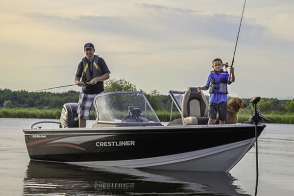 2017 Crestliner 1650 Fish Hawk