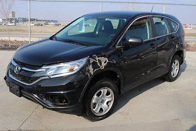 2016 Honda CR-V AWD 2016 Honda CR-V AWD Damaged Rebuilder Only 9K Miles Economical Perfect Fixer!!