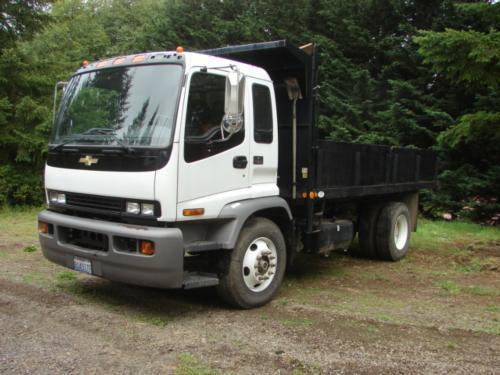 2008 Chevrolet T-7500  Dump Truck
