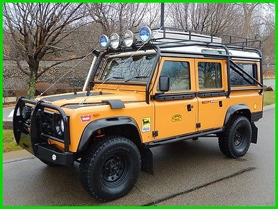 1986 Land Rover Defender 4dr Land Rover Defender 110 1986 Land Rover Defender 110 Camel Trophy MUST SEE!
