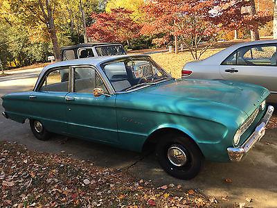 1960 Ford Falcon 4 door sedan 1960 Ford Falcon-4 door  Original teal blue, runs fine!
